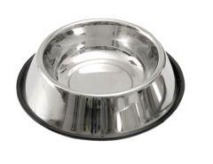 Mat & vannskål rustfri anti-slip 900 ml