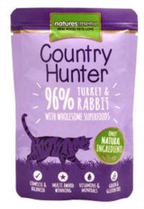 Natures Menu Country Hunter Cat Turkey & Rabbit 85g