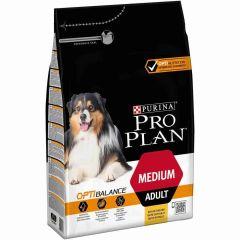 Pro Plan Optibalance Medium Adult Chicken 3 kg