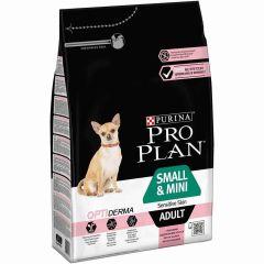 Pro Plan Optiderma Small & Mini Adult Salmon 3 kg