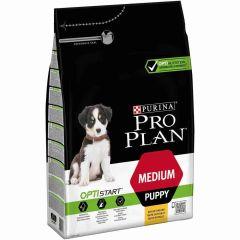 Pro Plan Optistart Medium Puppy Chicken 3 kg