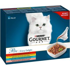 Purina Gourmet Perle Gravy Delight 8 pack