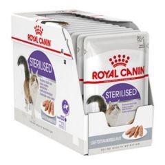 Royal Canin Sterilised Paté 12x80G