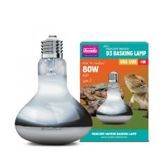 Arcadia Mini D3 Uv Basking Lamp 80W 12%