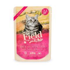 Sam's Field Cat Pouch til kattunge med kalkun 85g