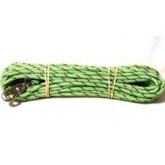 Alac sporline med refleks 6mm 15m grønn