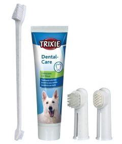 Tannbørste M/Tannkrem og 3 Forskjellige Børster