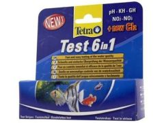 Tetra 6 In 1 Teststrips