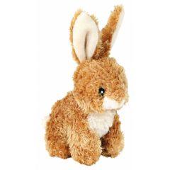 Trixie hundebamse kanin 15cm lys brun
