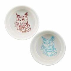 Trixie katteskål i keramikk 0,3l