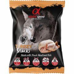 Alpha Spirit Turkey Snack 50g