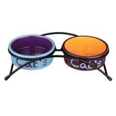 Cat's Eat On Feet keramikkskål