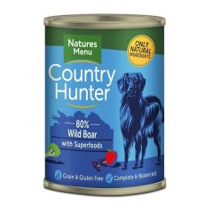 Natures Menu Country Hunter Villsvin 400 g