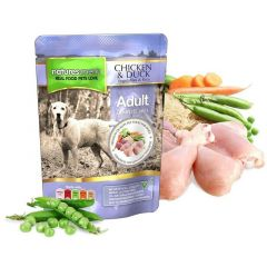 Natures Menu Pouches Kylling & And 300g
