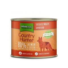 Natures Menu Country Hunter Laks & Kylling 600g