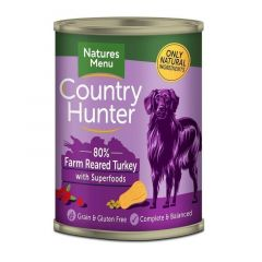 Natures Menu Country Hunter Kalkun 400g