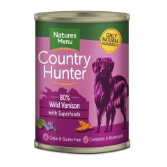 Natures Menu Country Hunter Våtfor Vilt 400g