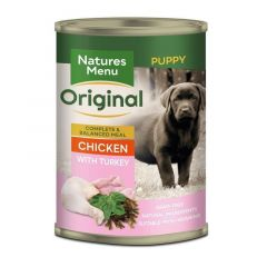 Natures Menu Junior Kylling & Kalkun 400g