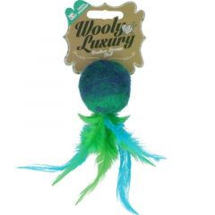 Wooly Luxury Feather Dream Ball Grønn