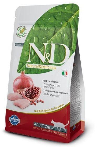 Farmina Cat N&D Grain Free Chicken & Pomegranate Adult 1,5kg