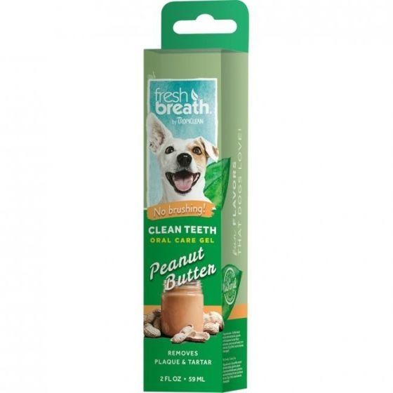 Fresh Breath Clean Teeth Peanut Butter 59 ml
