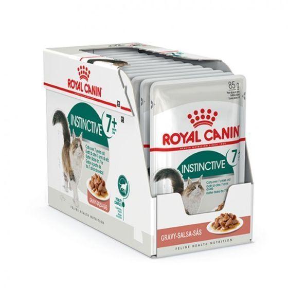 Royal Canin Instinctive 7+ Gravy 12x85g